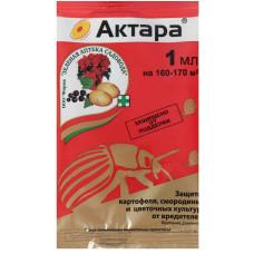 Актара - ампула от колорадского жука, щитовки 1мл