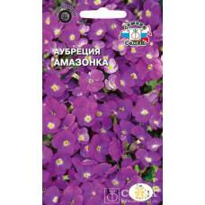 Аубреция Амазонка розово-фиолетовая