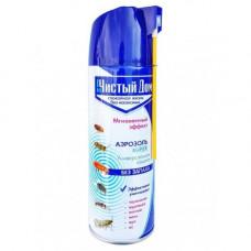 Аэрозоль Чистый дом (дихлофос мгновенный эффект б/запаха) 150 мл