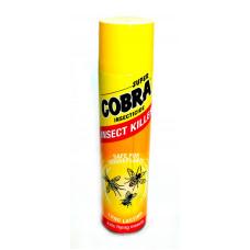 Аэрозоль КОБРА желтая от мух,комаров, ос, мошек (производитель Бельгия) 400мл
