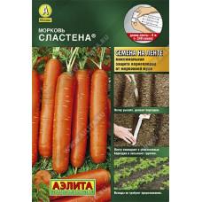 Морковь Сластена (лента) Аэлита 8м