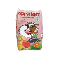 Биокомпост Оргавит КОРОВИЙ 2 кг (сухой)