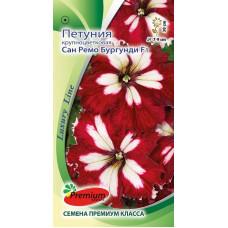 Цветы Петуния Сан Ремо Бургунди F1крупноцветковая (Luxury Line)