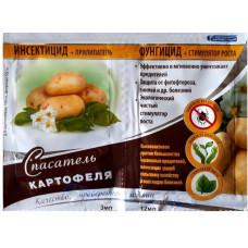 Спасатель Картофеля инсектицид + прилипатель 3мл и фунгицид + стимулятор роста 12мл