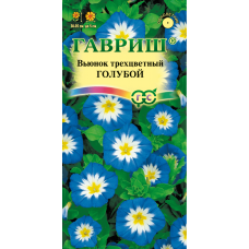 Вьюнок трехцветный Голубой цветы до 5 см Гавриш